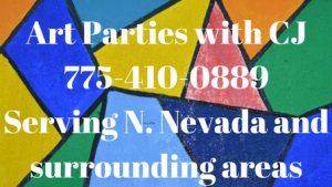Painting parties in the Reno, Dayton, Fernley, Carson City, Nevada area